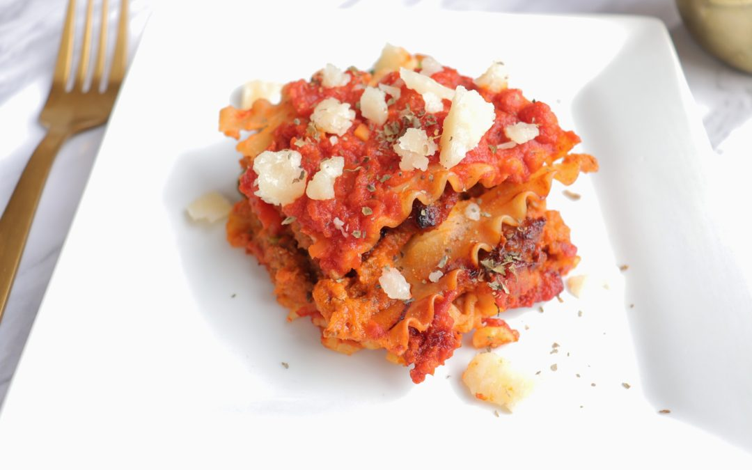 Lasagna with Hidden Veggies