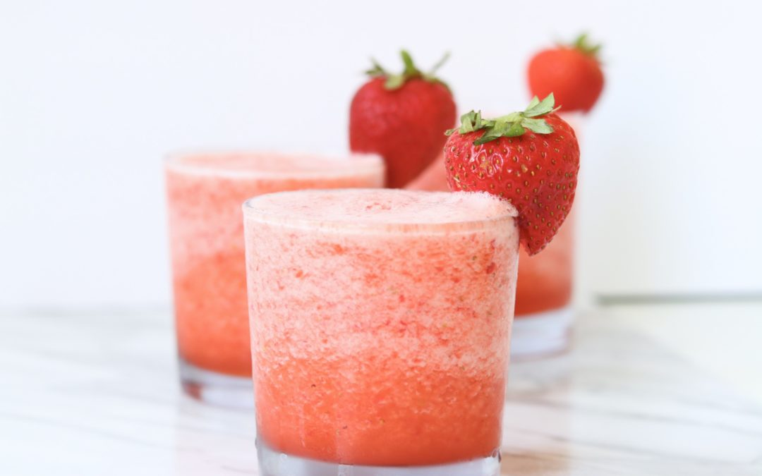 Strawberry Lemonade Slushy